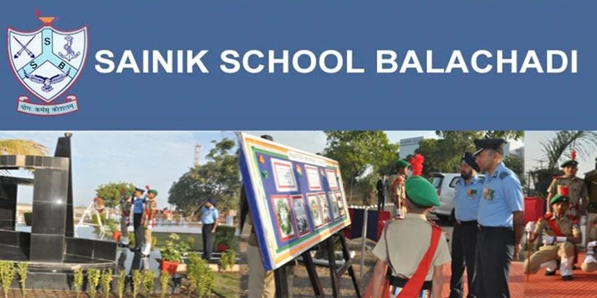 Sainik School Balachadi Admission 2021 for Class 6 & 9 - Check AISSEE Exam Date Here